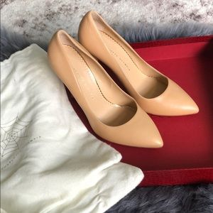 Perfect Nude Monroe Pumps